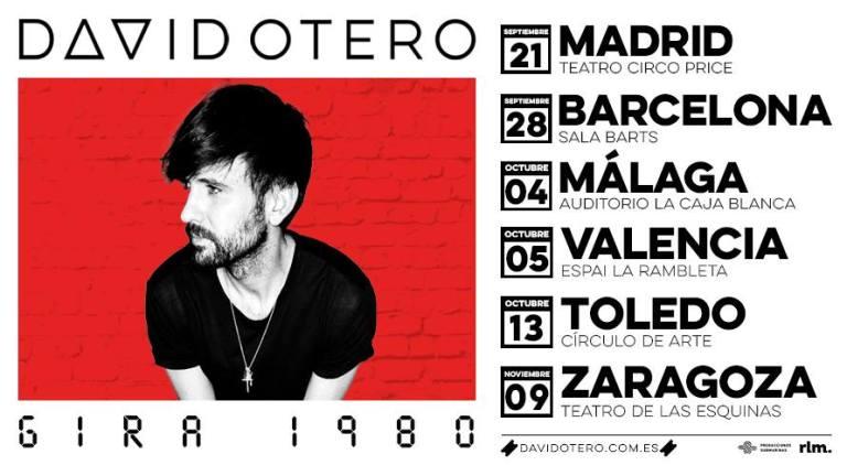 gira presentación David Otero